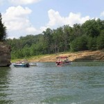 Boating on Rough River Lake