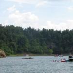 Fun in and on Rough River Lake