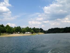 Lakeside Camping on Rough River Lake