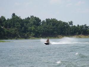 Sea Doo on Rough River Lake!