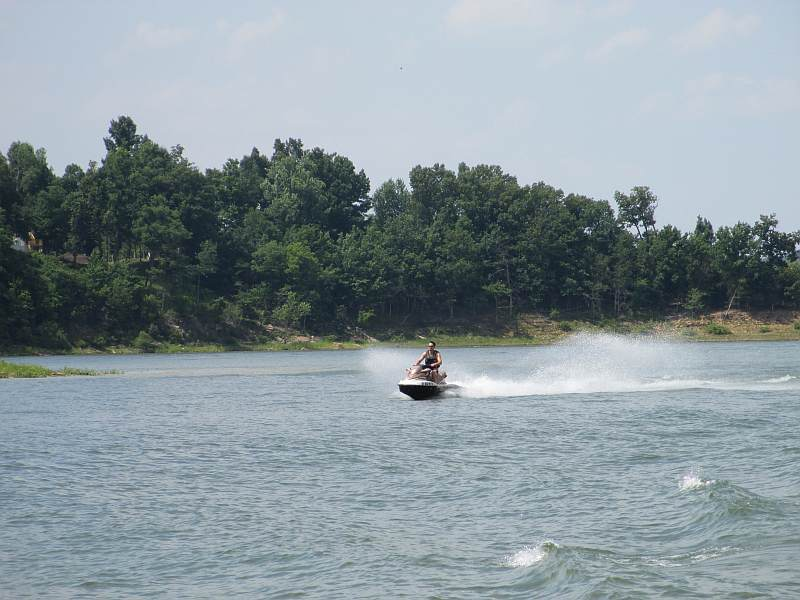 Sea Doo On Rough River Lake