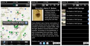 Explore Kentucky History App