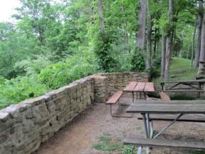 One of Lake Cumberland State Resort Park's Picnic Areas