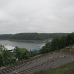 View of Lake Cumberland and Jamestown Marina