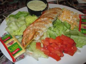 Beef 'O' Brady's Grilled Shrimp Salad
