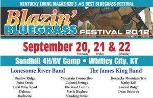 Blazin Bluegrass Festival 2012