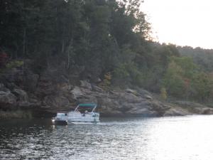 Boating on Rough River Lake