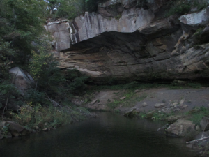 Old Cave on Rough River Lake