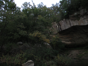Rough River Lake Rock Formations