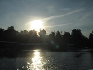 Sunset on Rough River Lake