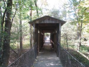 Covered Bridge at Panther Creek Park