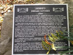 Debbie's Dream Catcher at Panther Creek Park