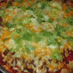 Taco Pizza at Firedome Wood Fired Pizza and Wings