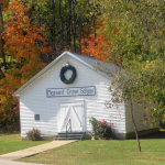 Old Pleasant Grove School House at Panther Creek Park
