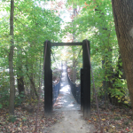 One of the Panther Creek Park Bridges