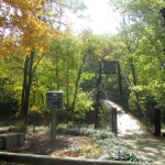 Panther Creek Park Bridge over Creek