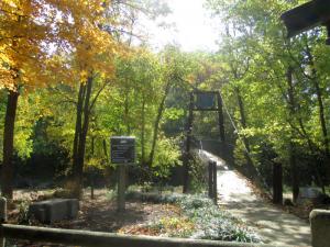 Panther Creek Park Bridge over Creek