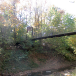 Panther Creek Park Bridge over the Creek