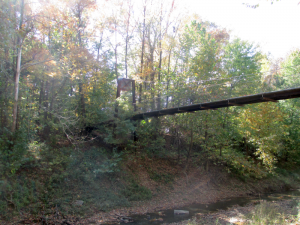 Panther Creek Park Bridge over the Creek