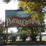 Panther Creek Park Sign