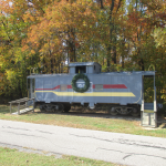 Panther Creek Park Train on Display