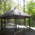 Panther Creek Park Walking Trail Gazebo