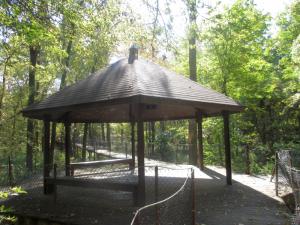 Panther Creek Park Walking Trail Gazebo