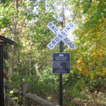 Panther Creek Park Walking Trail Sign