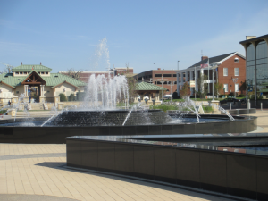 Smothers Park Fountains
