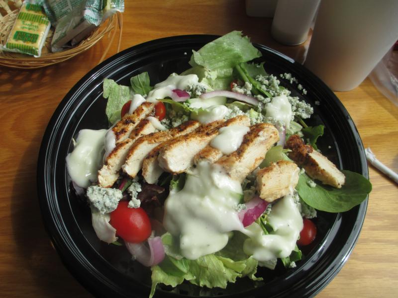 Docker's Bayside Grille Grilled Chicken Salad