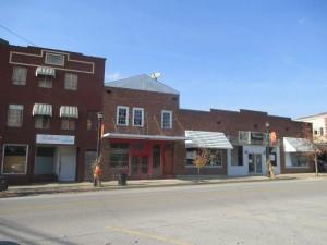 Downtown Morgantown, Kentucky