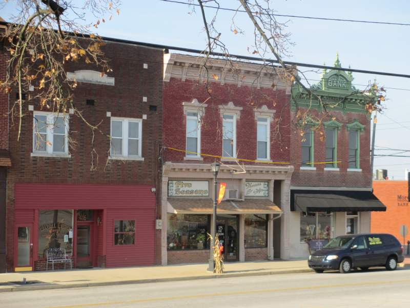 Morgantown, Kentucky Downtown