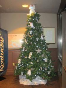 Christmas Tree at Rough River Dam State Resort Park