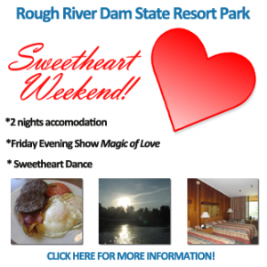Rough River Dam State Resort Park Sweetheart Weekend