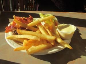 Hamburger and Fries, Grayson's Landing at Rough River