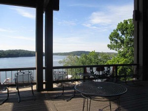 View of Lake Barkley from Windows on the Water's Patio