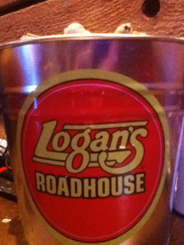 Logan's Roadhouse Bucket of Peanuts