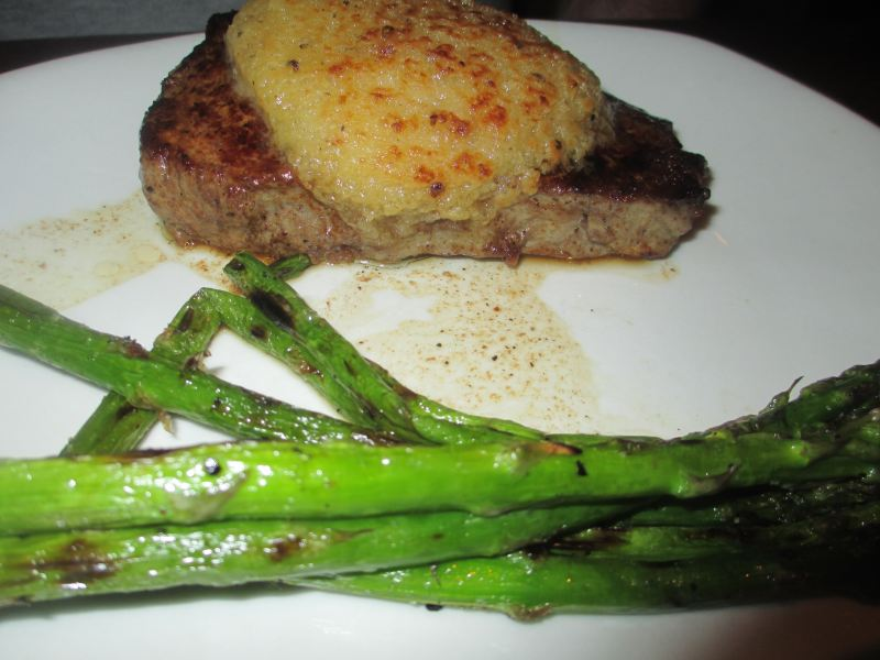 Outback Steak and Asparagus