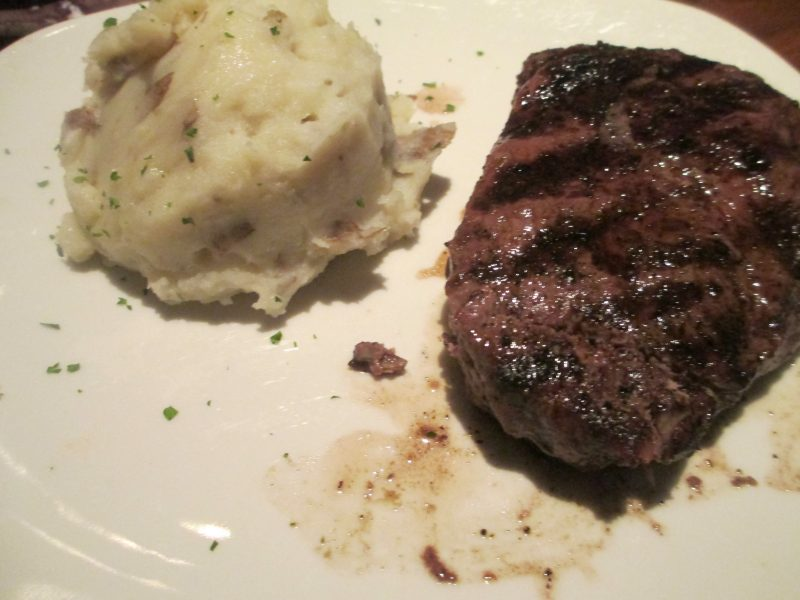 Outback Steak and Garlic Mashed Potatoes
