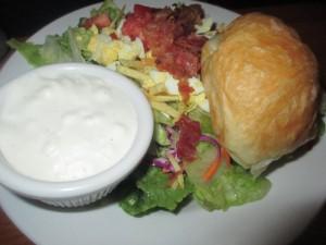 Rafferty's Salad with Bleu Cheese Dressing