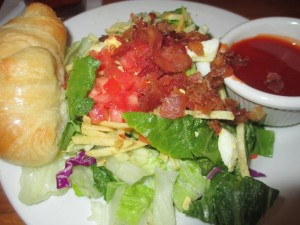 Rafferty's Salad with Catalina Dressing