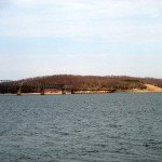 Eggner's Ferry Bridge on Kentucky Lake (March 2013)