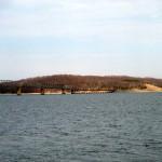 Eggner's Ferry Bridge on Kentucky Lake (March 2013)
