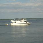 Houseboat on Kentucky Lake