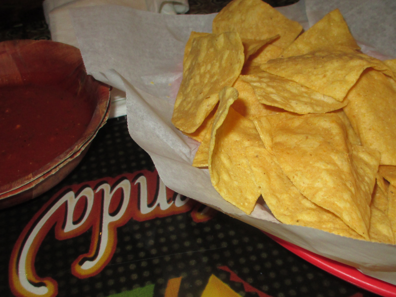Real Hacienda Salsa and Chips