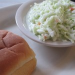 North South Coleslaw and Roll