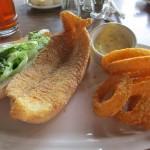 Catfish Sandwich at Lake Barkley State Resort Park