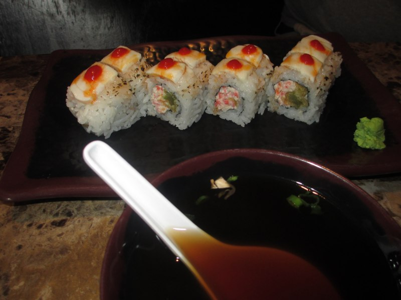 Great White Shark Roll at Wasabi Express in Owensboro