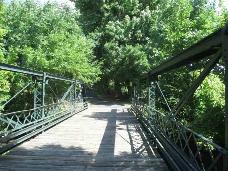 Jack C Fisher Park - Bridge on the Walking and Biking Trail