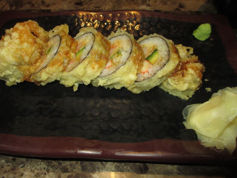 Kentucky Roll with Extra Ginger at Wasabi Express in Owensboro